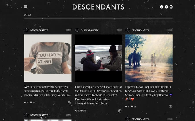 Descendants Lately Some Style